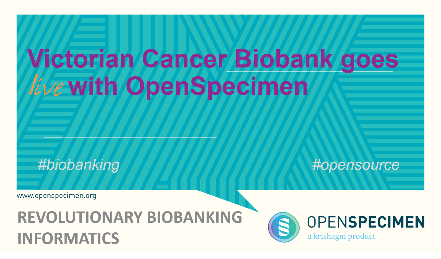 tissue tracking software | victorian cancer biobank